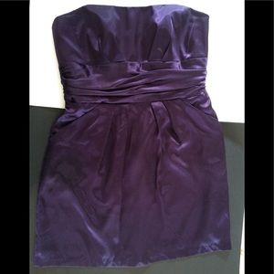 Gorgeous David's shiny purple dress. Size 16, GUC
